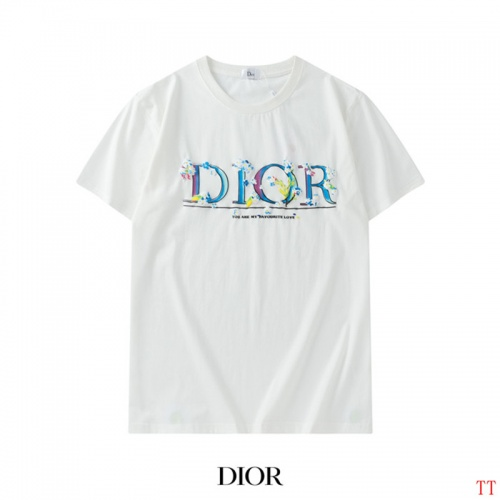 Christian Dior T-Shirts Short Sleeved For Men #842903