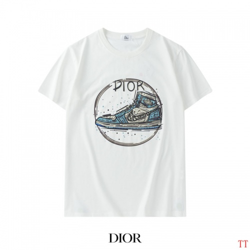 Christian Dior T-Shirts Short Sleeved For Men #842905