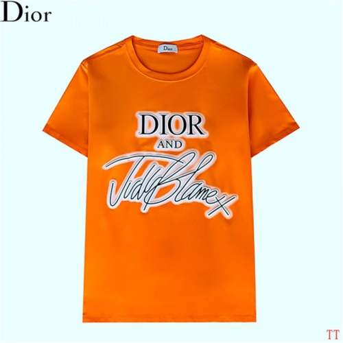 Christian Dior T-Shirts Short Sleeved For Men #842907