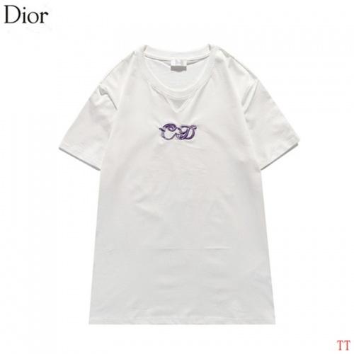 Christian Dior T-Shirts Short Sleeved For Men #842911