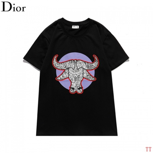 Christian Dior T-Shirts Short Sleeved For Men #842912