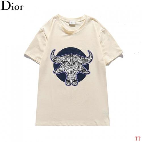 Christian Dior T-Shirts Short Sleeved For Men #842913