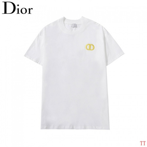 Christian Dior T-Shirts Short Sleeved For Men #842914