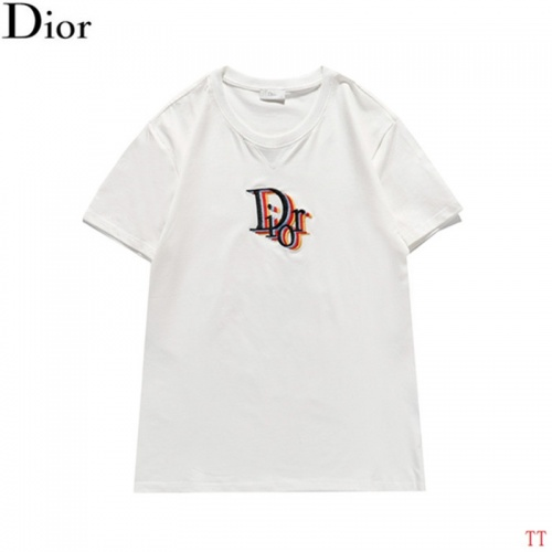 Christian Dior T-Shirts Short Sleeved For Men #842920