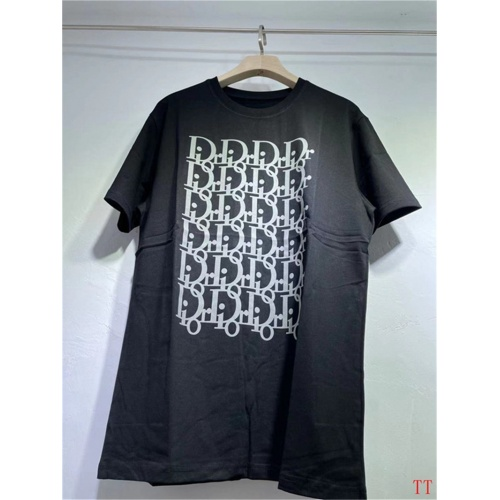 Christian Dior T-Shirts Short Sleeved For Men #842921