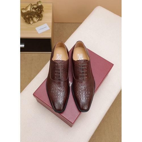Ferragamo Leather Shoes For Men #842930