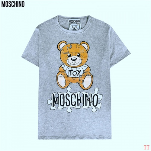 Moschino T-Shirts Short Sleeved For Men #842996