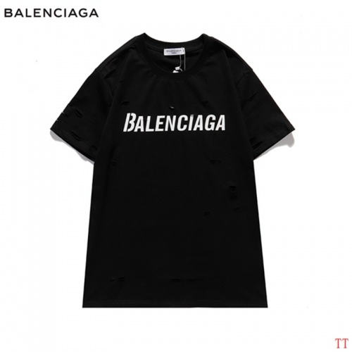 Balenciaga T-Shirts Short Sleeved For Men #843016