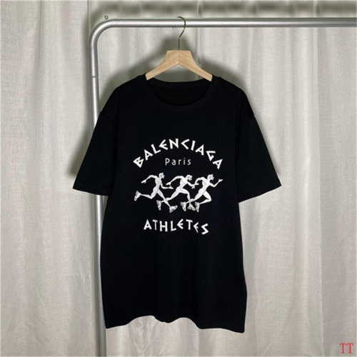 Balenciaga T-Shirts Short Sleeved For Men #843020