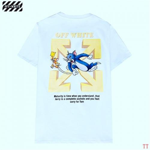 Off-White T-Shirts Short Sleeved For Men #843042