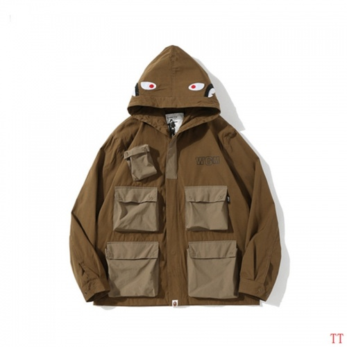 Bape Jackets Long Sleeved For Men #843043