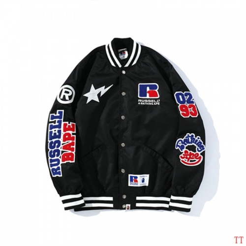 Replica Bape Jackets Long Sleeved For Men #843044 $72.00 USD for Wholesale
