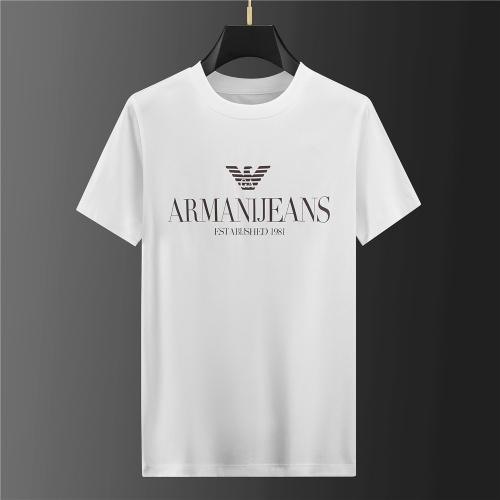 Armani T-Shirts Short Sleeved For Men #843106