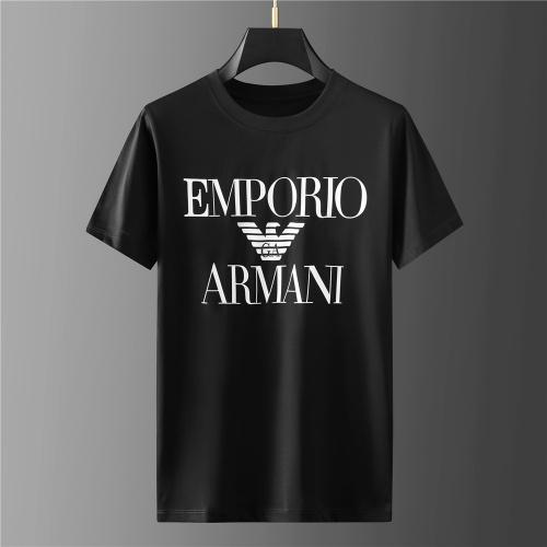 Armani T-Shirts Short Sleeved For Men #843107