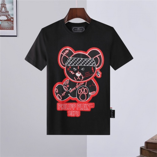 Philipp Plein PP T-Shirts Short Sleeved For Men #843232 $27.00, Wholesale Replica Philipp Plein PP T-Shirts