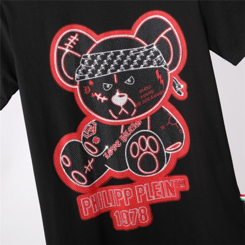 Replica Philipp Plein PP T-Shirts Short Sleeved For Men #843232 $27.00 USD for Wholesale