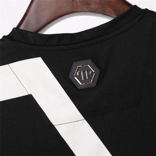 Replica Philipp Plein PP T-Shirts Short Sleeved For Men #843237 $27.00 USD for Wholesale