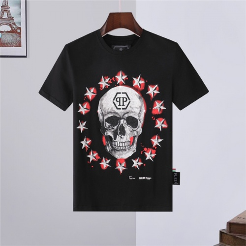 Replica Philipp Plein PP T-Shirts Short Sleeved For Men #843240 $27.00 USD for Wholesale