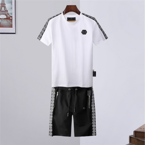 Philipp Plein PP Tracksuits Short Sleeved For Men #843246