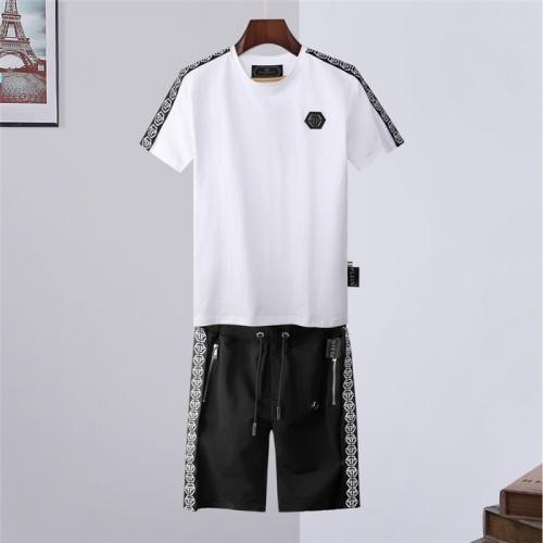 Philipp Plein PP Tracksuits Short Sleeved For Men #843246