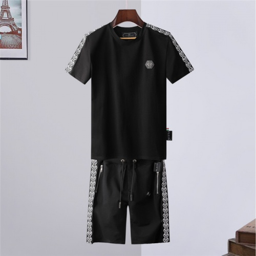 Philipp Plein PP Tracksuits Short Sleeved For Men #843250