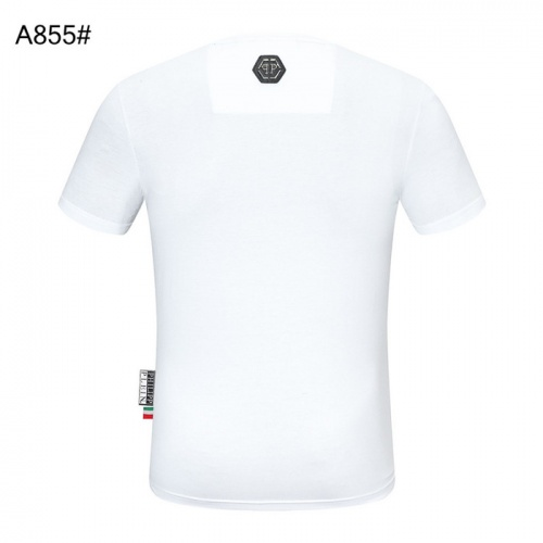 Replica Philipp Plein PP T-Shirts Short Sleeved For Men #843279 $27.00 USD for Wholesale