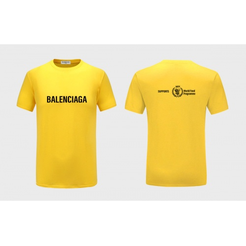 Balenciaga T-Shirts Short Sleeved For Men #843372