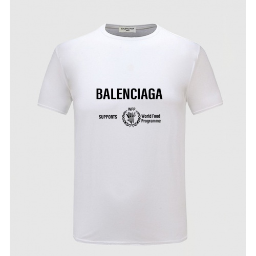 Balenciaga T-Shirts Short Sleeved For Men #843373