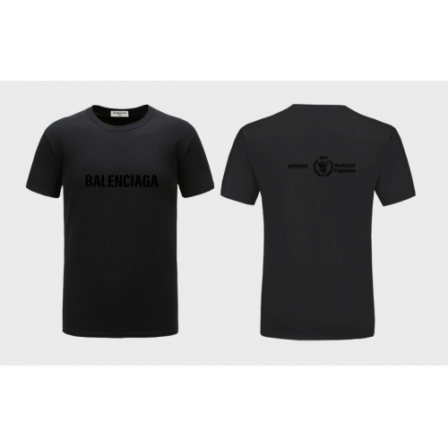 Balenciaga T-Shirts Short Sleeved For Men #843378