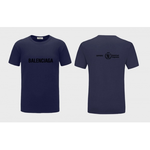 Balenciaga T-Shirts Short Sleeved For Men #843382