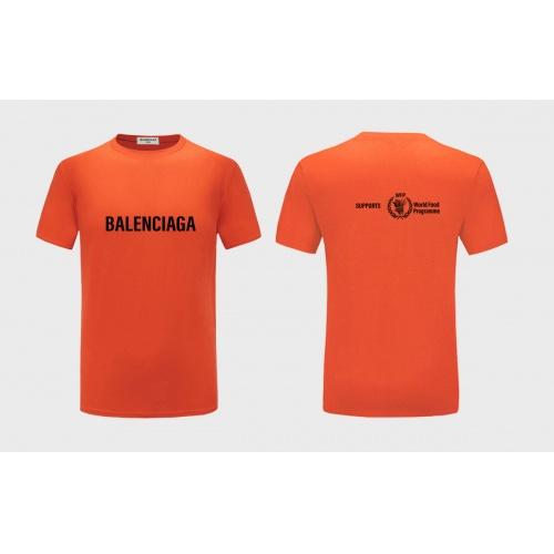Balenciaga T-Shirts Short Sleeved For Men #843386