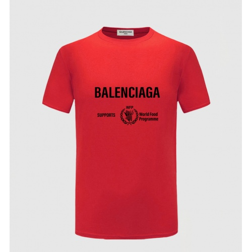 Balenciaga T-Shirts Short Sleeved For Men #843387