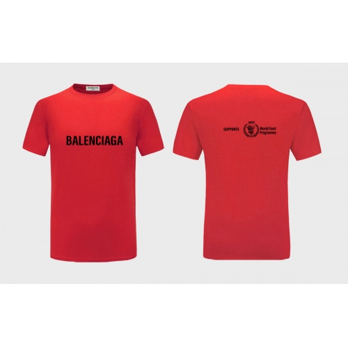 Balenciaga T-Shirts Short Sleeved For Men #843390