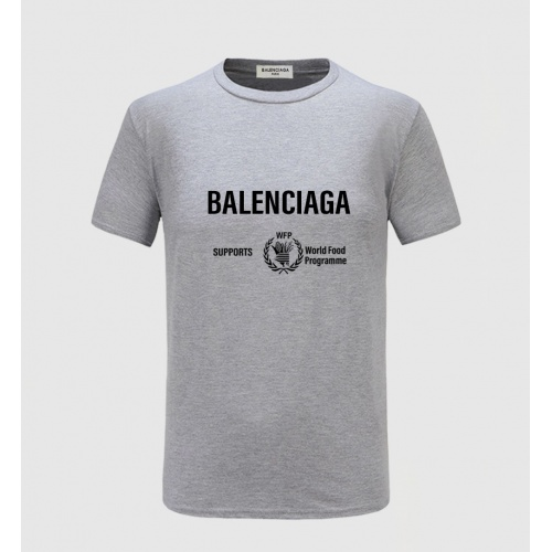 Balenciaga T-Shirts Short Sleeved For Men #843391