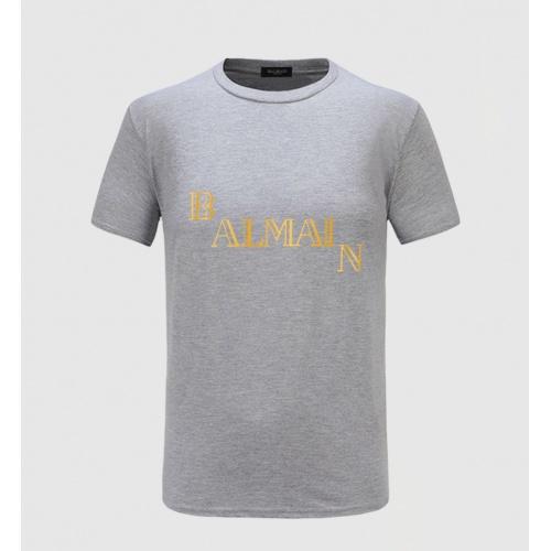 Balmain T-Shirts Short Sleeved For Men #843395