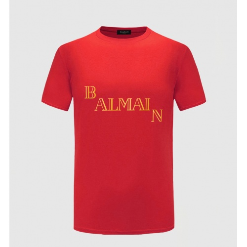 Balmain T-Shirts Short Sleeved For Men #843396