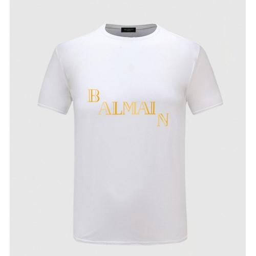 Balmain T-Shirts Short Sleeved For Men #843401