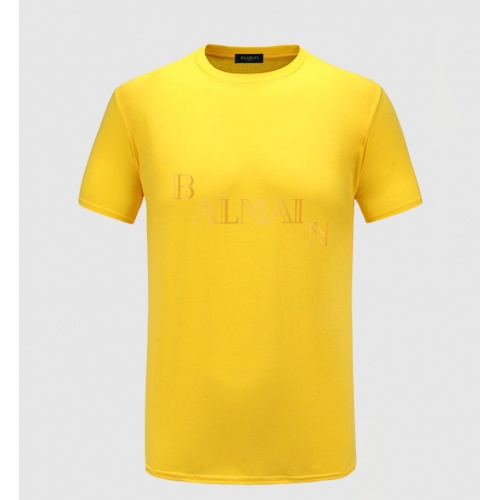 Balmain T-Shirts Short Sleeved For Men #843402