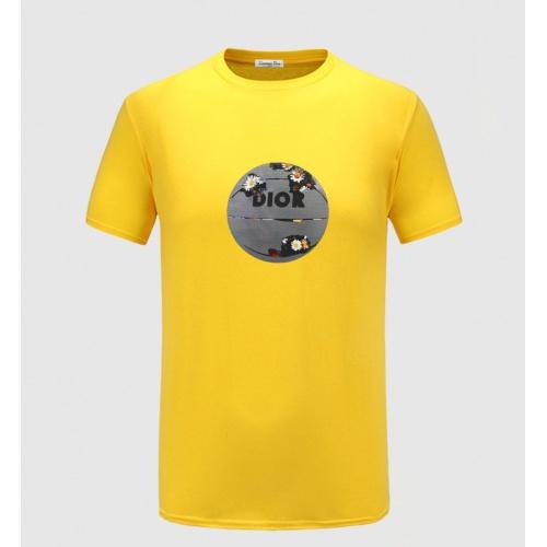 Christian Dior T-Shirts Short Sleeved For Men #843480