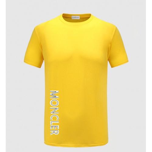 Moncler T-Shirts Short Sleeved For Men #843557