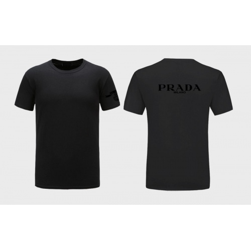 Prada T-Shirts Short Sleeved For Men #843576 $27.00 USD, Wholesale Replica Prada T-Shirts