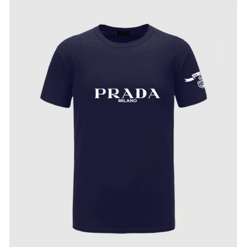 Prada T-Shirts Short Sleeved For Men #843577
