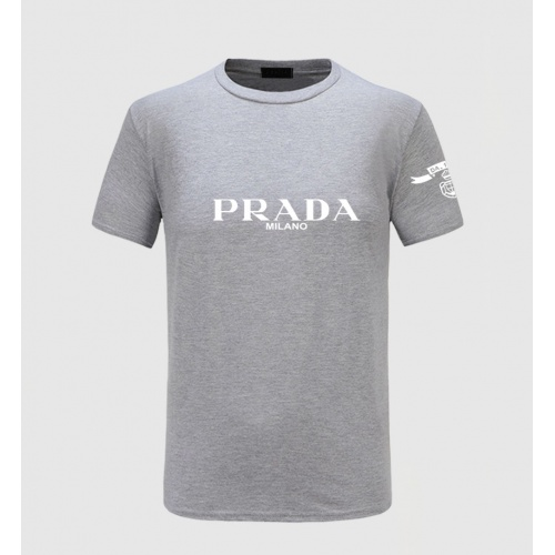 Prada T-Shirts Short Sleeved For Men #843580