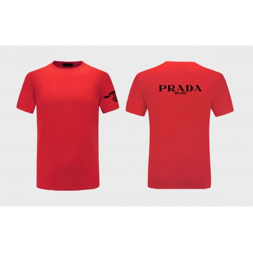Prada T-Shirts Short Sleeved For Men #843581