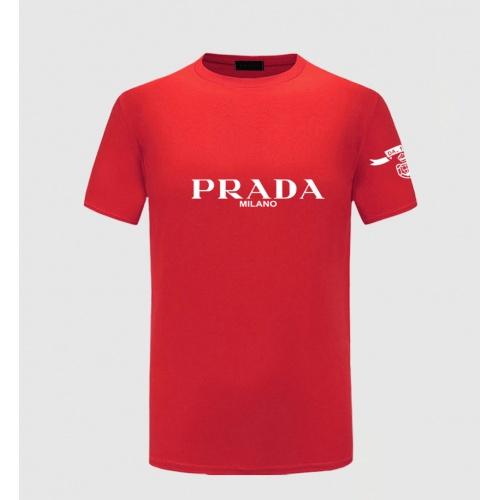 Prada T-Shirts Short Sleeved For Men #843582 $27.00 USD, Wholesale Replica Prada T-Shirts