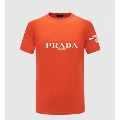 Prada T-Shirts Short Sleeved For Men #843586 $27.00 USD, Wholesale Replica Prada T-Shirts