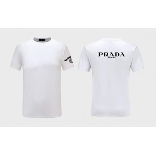 Prada T-Shirts Short Sleeved For Men #843587