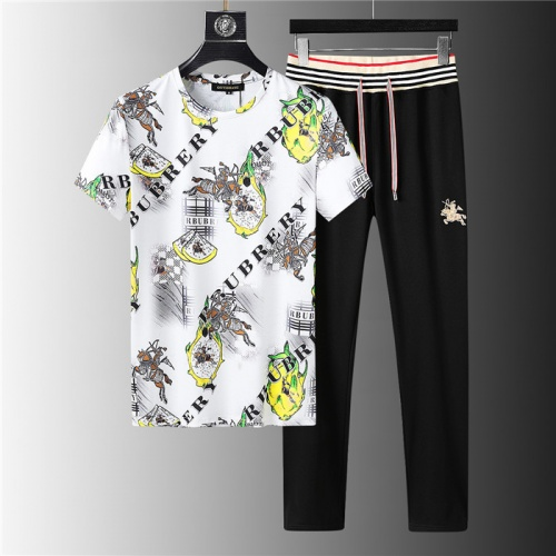 Burberry Tracksuits Short Sleeved For Men #843905