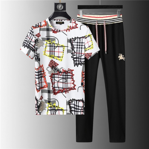 Burberry Tracksuits Short Sleeved For Men #843907
