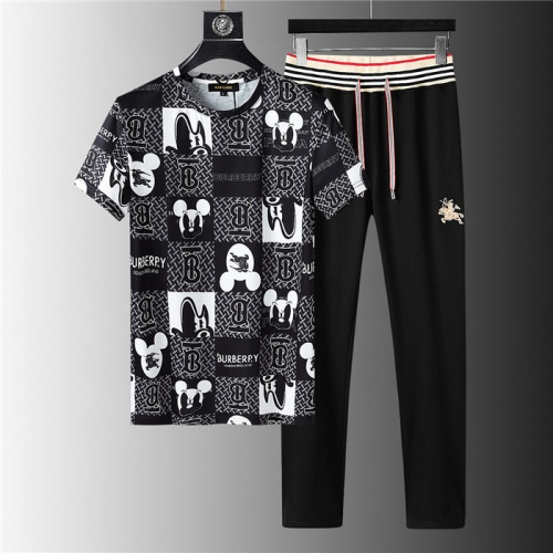Burberry Tracksuits Short Sleeved For Men #843912